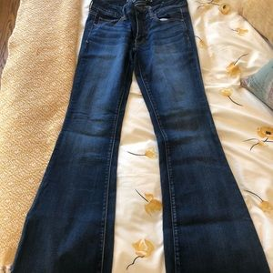 American Eagle Outfitters Boho Flare Jeans